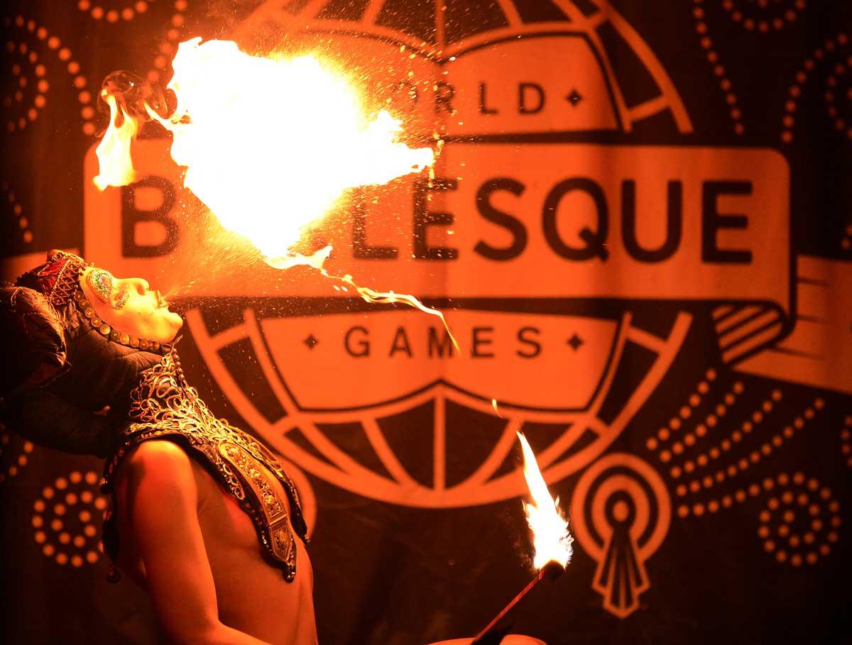 Chaz Royal presents the World Burlesque Games: British Crown & World Variety Crown