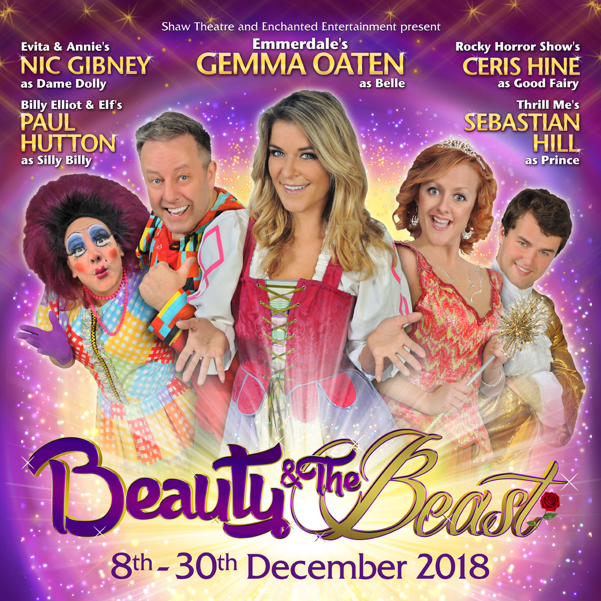 Beauty and the Beast 8-30th December