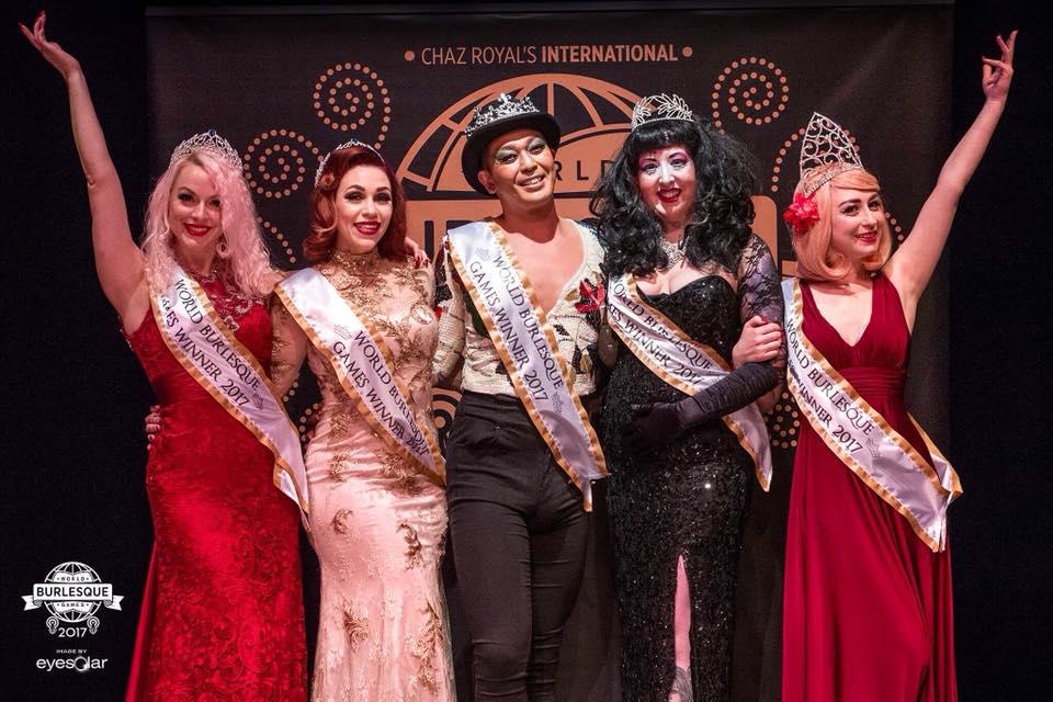 London Burlesque Festival 2018 - Crown Jewels night