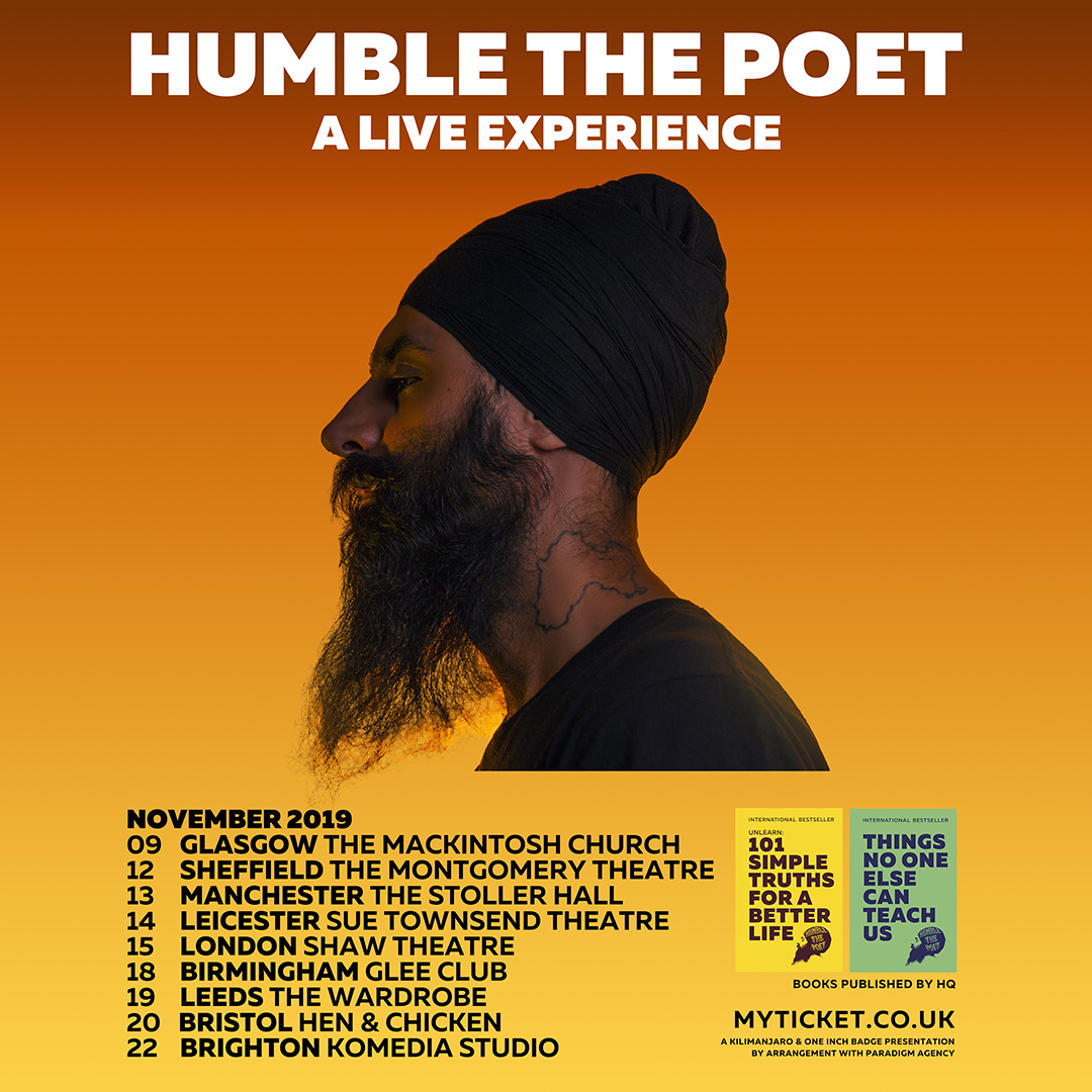 Humble the Poet: A Live Experience