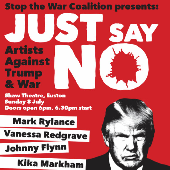 JUST SAY NO Artists Against Trump and War